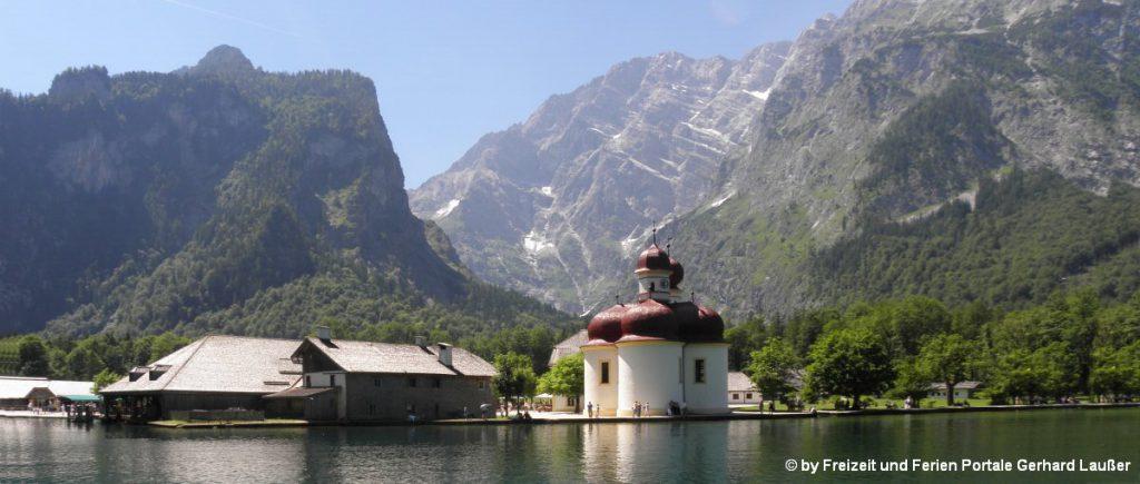 Sehenswürdigkeiten Berchtesgadener Land Ausflugsziele Königssee