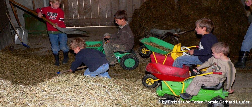 Kinderurlaub in Bayern Bauernhof Urlaub in Deutschland mit Kinder