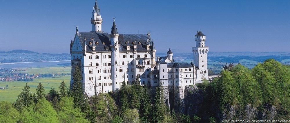 Sehenswürdigkeiten im Allgäu Ausflugsziele Neuschwanstein Ausflüge Bodensee